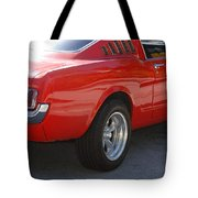 Red Stang Tote Bag