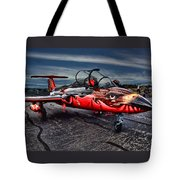 Red Star Viper Russian Side Tote Bag