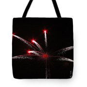 Red Stars Tote Bag