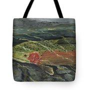 Red Steelhead Tote Bag