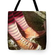Red Stockings Tote Bag