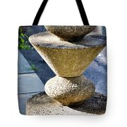 Red Stone Tote Bag