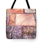 Red Pavement. Tote Bag