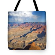 Red Storm Rising Tote Bag