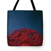 Red String Tote Bag