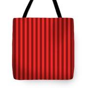 Red Striped Pattern Design Tote Bag