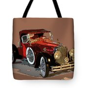 Red Stutz Tote Bag