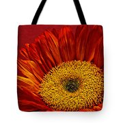 Red Sunflower Viii Tote Bag