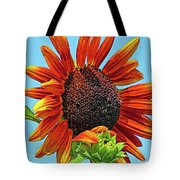 Red Sunflowers-adult And Child Tote Bag
