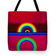 Red Sunset Tote Bag