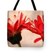 Red Texture Tote Bag