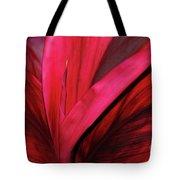 Red Ti Leaf Plant - Hawaii Tote Bag