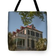 Red Tin Roof On Meeting Street Tote Bag