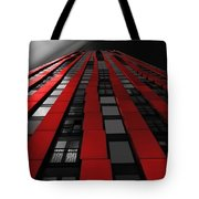 Red To The Sky Tote Bag