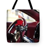 Red Top Hat Tote Bag