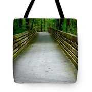 Red Top Mountain Bridge Tote Bag
