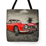 Red Tr4  Tote Bag