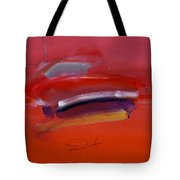 Red Trawler Tote Bag