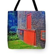 Red Trim Tote Bag