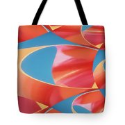 Red Tubes Tote Bag