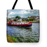 Red Tug Boat Tote Bag