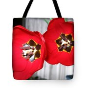 Red Tulip Duo Tote Bag