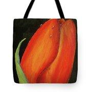 Red Tulip Tote Bag