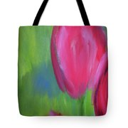 Red Tulips 2 Tote Bag