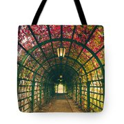 Red Tunnel Tote Bag
