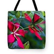 Red Twins One Tote Bag