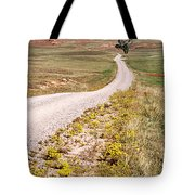 Red Valley Road Tote Bag