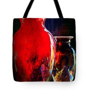 Red Vase Tote Bag