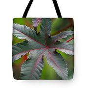 Red Vein Tote Bag