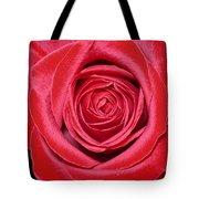 Red Velvet Rose Tote Bag
