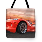 Red Viper Rt10 Tote Bag