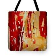 Red Visions Tote Bag