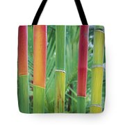 Red Wax Palm Stalks Tote Bag