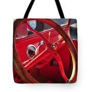 Red Wheel Tote Bag