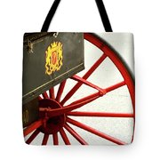 Red Wheel Tote Bag