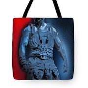 Red White And Bane Tote Bag