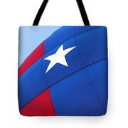 Red White And Blue Balloon Tote Bag