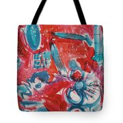 Red, White, And Blue Tote Bag
