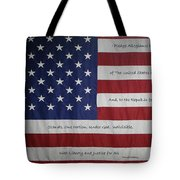 Red White And True Tote Bag