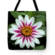 Red White And Yellow Flower Tote Bag