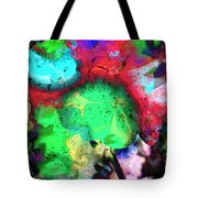 Red Wigged Lollipop Tote Bag