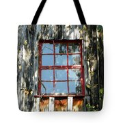 The Red Window Tote Bag