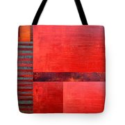 Red With Orange 2.0 Tote Bag