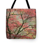 Red Zen Tote Bag