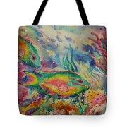 Redband Parrotfish Tote Bag