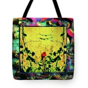 Redbird In The Valley Of Beautiful Possibilities Tote Bag